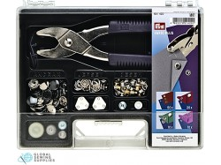 Assortment Kit for Piercing and Riveting by Prym