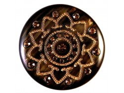 Button with Crystal Rhinestones - Art: ΜΑ-2400